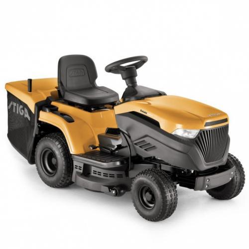 Výrobek Zahradní traktor Stiga Estate 3084 H hydrostat s košem (motor BriggsStratton 12,5 HP) - SLEVA + BONUSY + doprava ZDARMA !