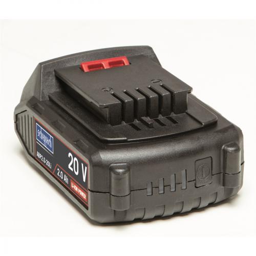 Výrobek 20V lithium iontová baterie aku Scheppach ABP2.0-20Li 2Ah