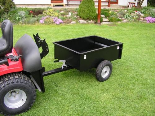Výrobek Vozík za zahradní traktor VARES TDK (kola bez ložisek) - SKLADEM !