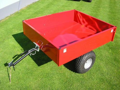 Výrobek Extra velký vozík za zahradní traktor VARES TR 350-7 - SLEVA + ZDARMA doprava !