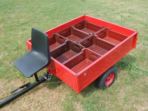 Výrobek Vozík VARES HV 350-7 (vlečka za jednoosé malotraktory)