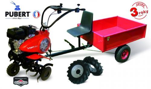Výrobek AKČNÍ SET 4 PUBERT VARIO 65P C3 (motor Briggs Stratton CR950 208 ccm) + kola 10 palců + vozík VARES HV 220L + ZDARMA doprava !