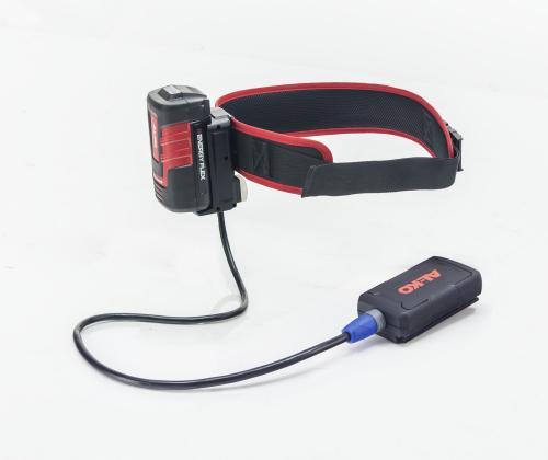 Výrobek AL-KO pás BBA 40 s adaptérem pro aku stroje Energy Flex