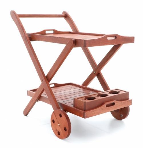 Výrobek Servírovací stolek VeGAS (z exotického dřeva Meranti)