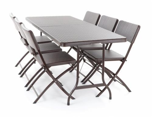 Výrobek Zahradní stolová sestava Vega SPLIT set 6