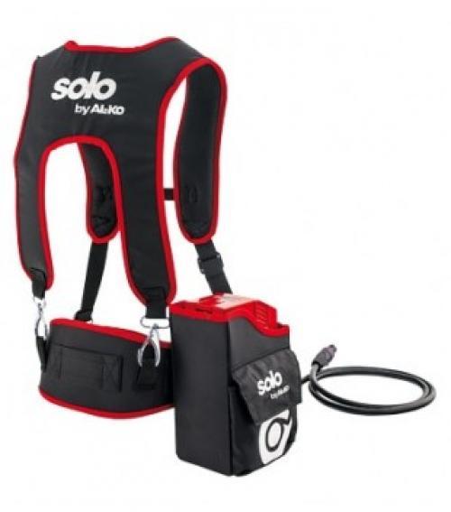 Výrobek Zádový popruh Solo by AL-KO s nastavitelnou kapsou na akumulátor 42 V 7,5 Ah (baterie není součástí) + ZDARMA doprava !