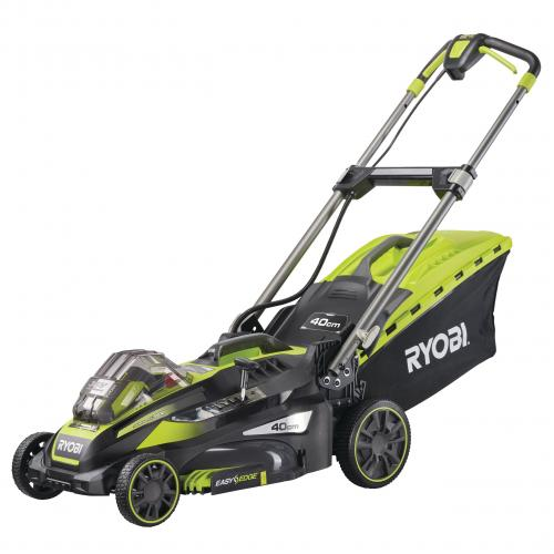 Výrobek Ryobi RLM36X41H50P 36V Akumulátorová sekačka na trávu s funkcí Power Assist, šířka záběru 40cm (1x5.0Ah)