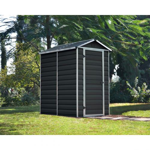 Výrobek Palram Skylight 4x6 antracit zahradní domek z polykarbonátu + ZDARMA doprava !