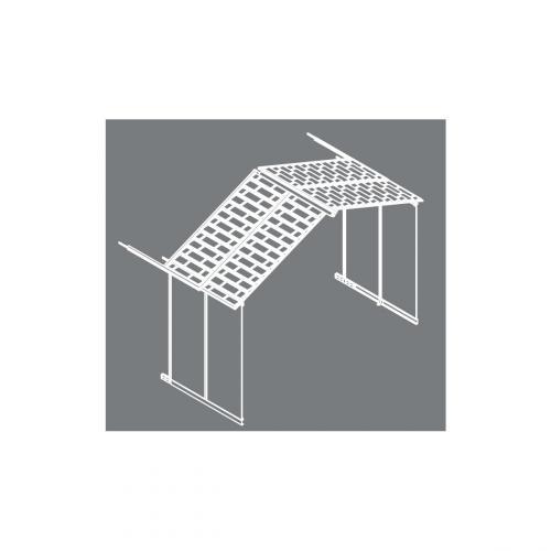 Výrobek Palram Rozšiřovací modul 11x4,1 pro domky série Yukon 11 (antracit)