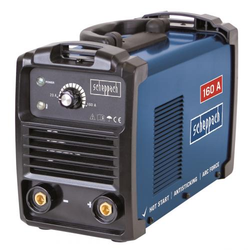 Výrobek Scheppach WSE 1100 svářecí invertor 160 A s příslušenstvím - SLEVA !
