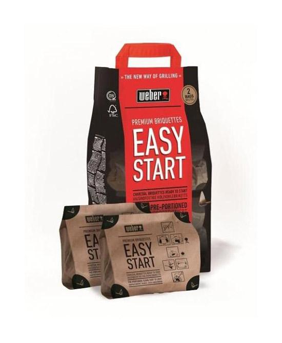 Výrobek Weber Easy Start Premium brikety 1,4 kg, dvojité balení - SKLADEM - poslední 1 ks !