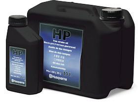 Výrobek Husqvarna olej do 2-taktních motorů HP lahvička 0,1 l