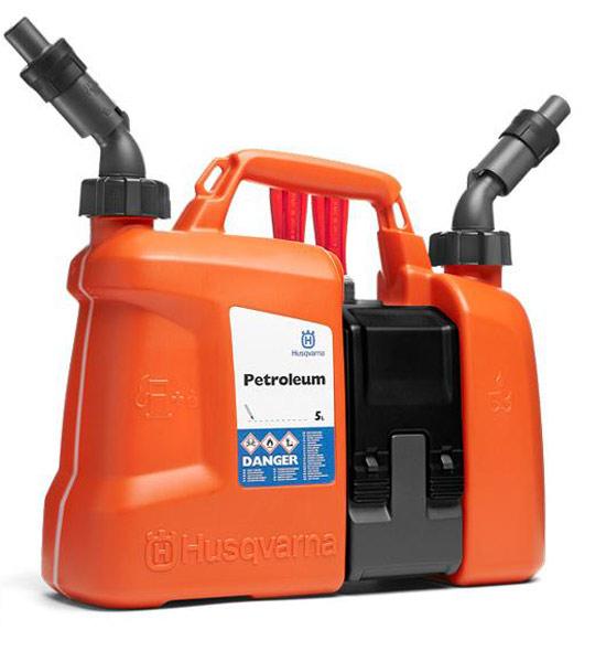 Výrobek Husqvarna kanystr Combi oranžový 2,5L olej - 5L benzín
