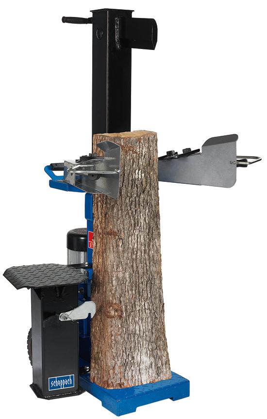 Výrobek Scheppach HL 1200s 400 V - vertikální štípač - štípačka dřeva 12 t - mega SLEVA !