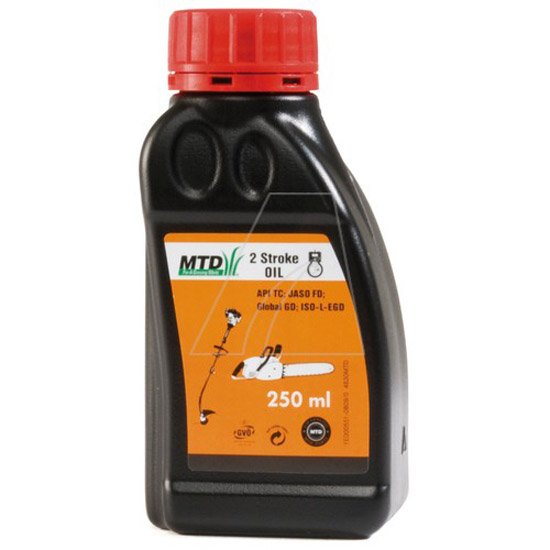 Výrobek MTD Motorový olej pro 2 taktní motory, 250 ml