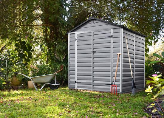 Výrobek Palram Skylight 6x5 šedý - zahradní domek