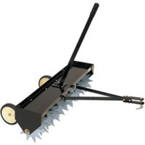 Výrobek Tažený provzdušňovač trávníku záběr 102 cm, 12 hvězdicových nožů (hloubka aerace až 6 cm)