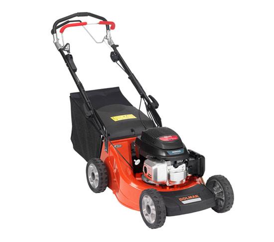 Výrobek Benzinová sekačka na trávu Dolmar PM 4655 S4 (hliníkové šasi 46 cm, motor HONDA GCV 160 5,5 HP, pojezd 4 rychlosti) - AKCE !