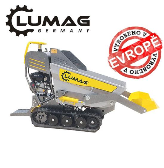 Výrobek Profi minidumper Lumag VH 500 PRO plně hydraulický pásový dopravník s korbou a lžící + motorem 4,0 kW + ZDARMA doprava !