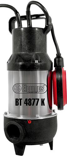 Výrobek Elpumps BT 4877 K kalové čerpadlo do septiku s oběžným kolem (s řeznými noži) - mega SLEVA !
